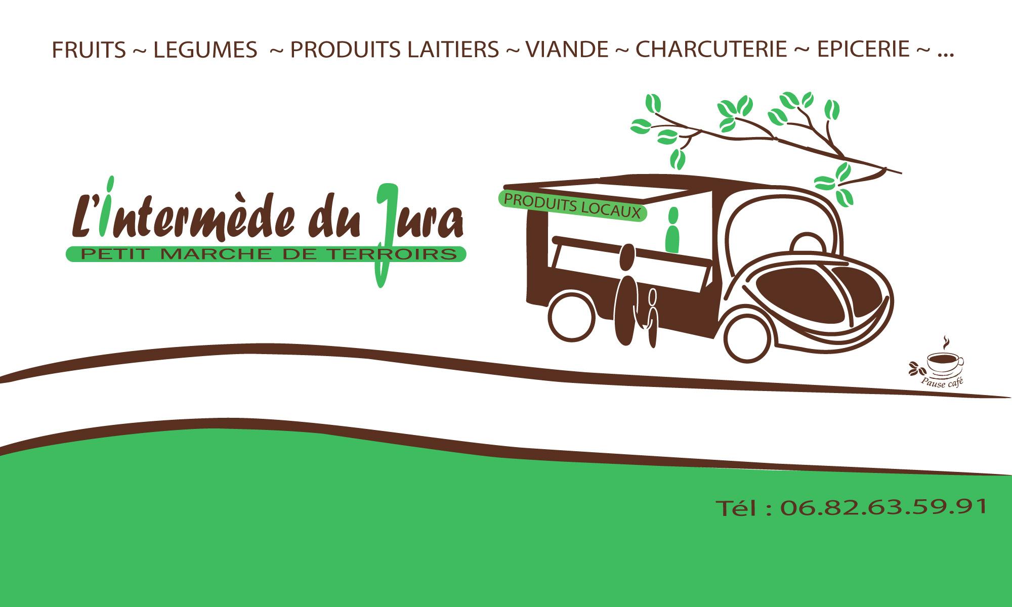 Épicerie mobile, l'Intermède du Jura